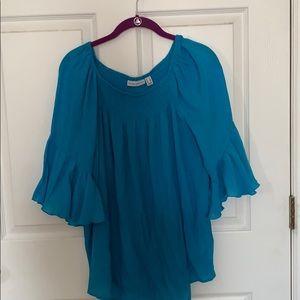 Susan Graver gauze tunic size 6